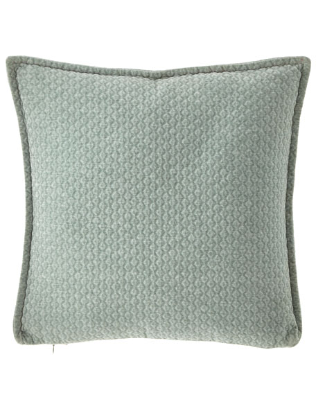 Sherry Kline Home Greystone Quilted Pillow