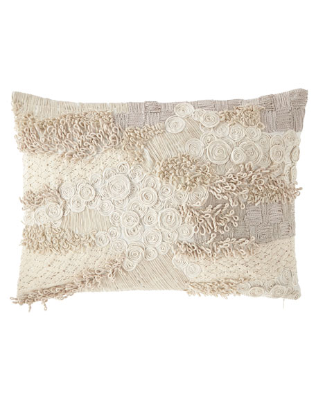Sherry Kline Home Greystone Boudoir Pillow