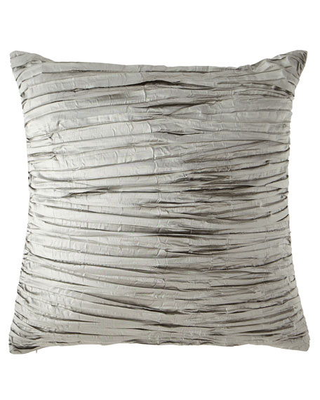 Image 1 of 1: Foiled Crushed Silk European Sham