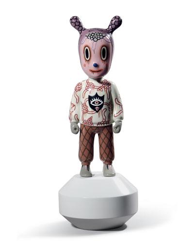 The Guest Figurine by Gary Baseman