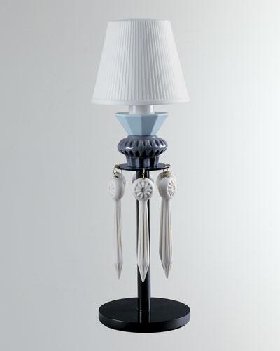 Belle de Nuit Lithophane Lamp  Black