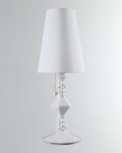 Belle de Nuit Table Lamp  White