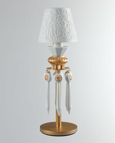 Belle de Nuit Lithophane Lamp  Gold