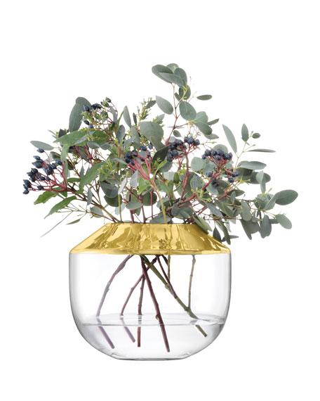 LSA Space Gold Vase