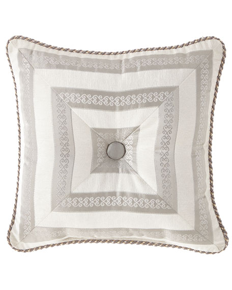 Austin Horn Collection Provence Mitered Pillow