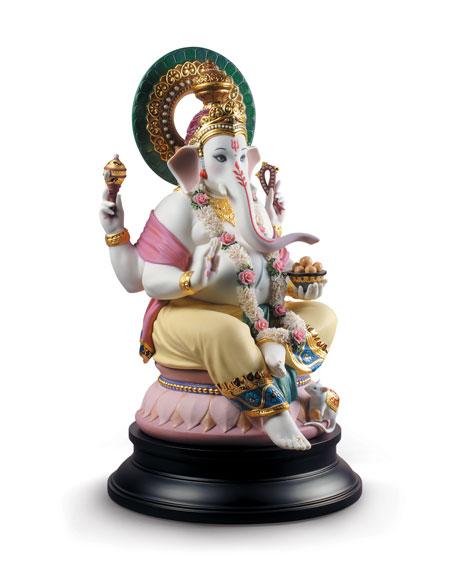 Lladro Lord Ganesha Figurine