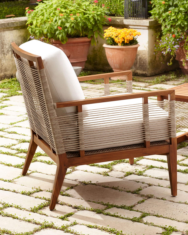 Awe Inspiring Amalfi Outdoor Lounge Chair With Cushions Theyellowbook Wood Chair Design Ideas Theyellowbookinfo