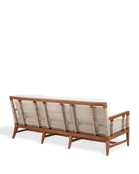 Palecek Amalfi Outdoor Sofa with Cushions