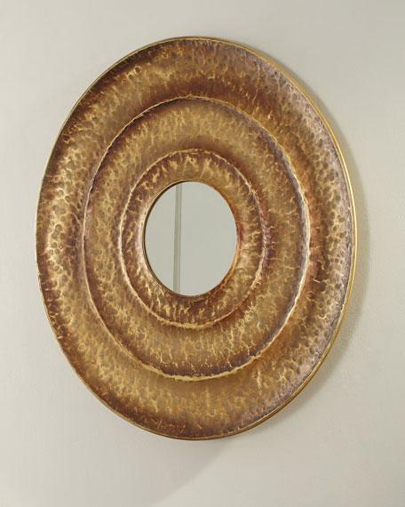 Jamie Young Layered Round Mirror