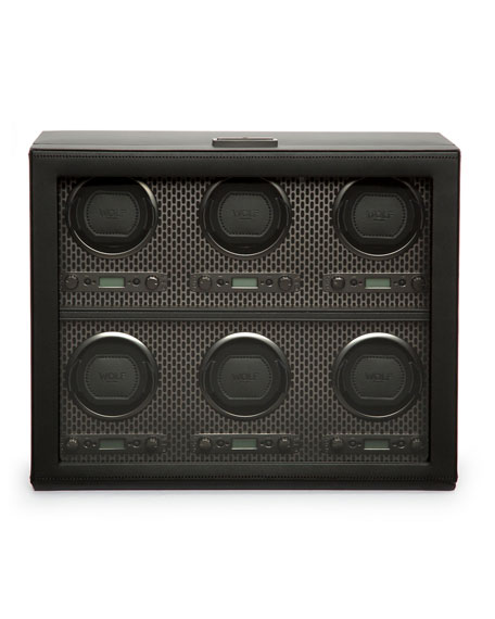 WOLF Axis 6-Piece Watch Winder