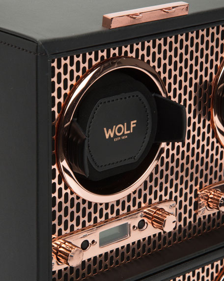 WOLF Axis 8-Piece Watch Winder