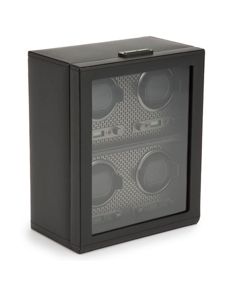 Image 3 of 3: WOLF Axis 4-Piece Watch Winder