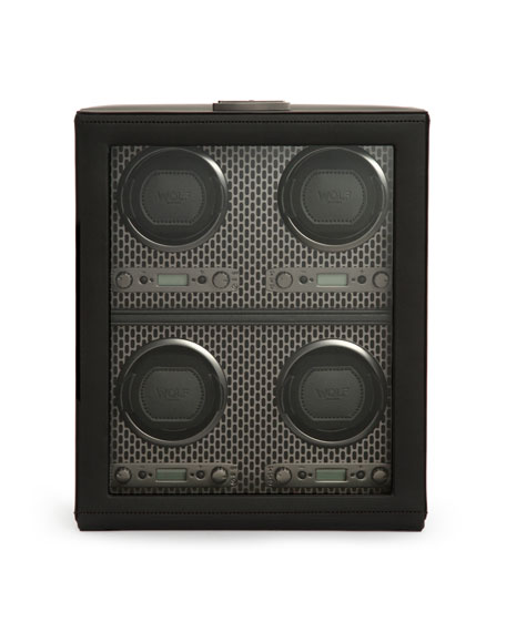 Image 1 of 3: WOLF Axis 4-Piece Watch Winder