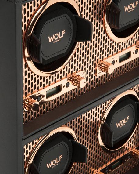WOLF Axis 4-Piece Watch Winder