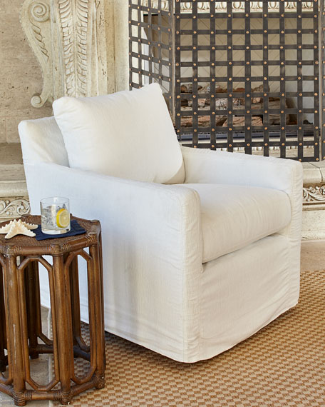Oscar Slipcover Chair