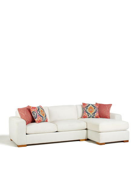 Gentry 2-Piece Chaise Sectional