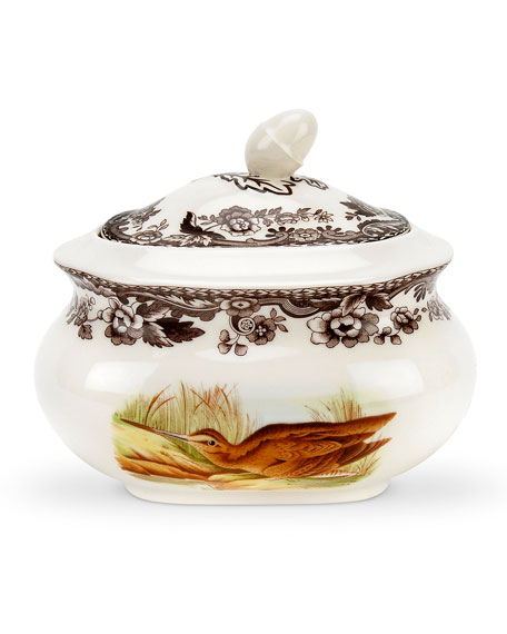 Spode Woodland Covered Sugar Bowl