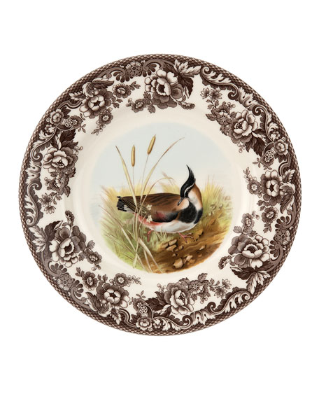 Spode Woodland Lapwing Dinner Plate