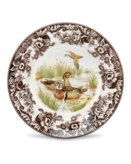 Spode Woodland Wood Duck Salad Plate