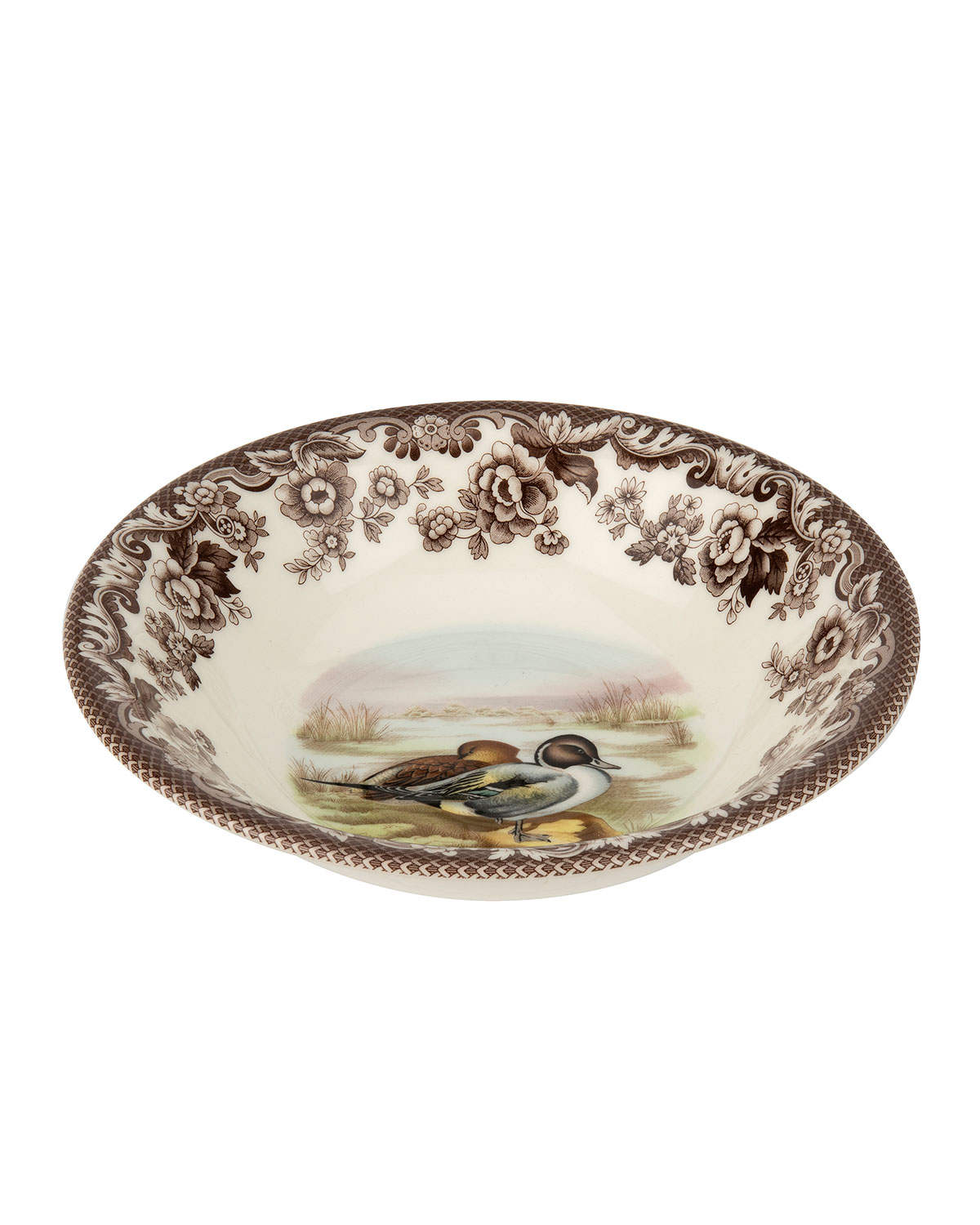 Spode Woodland Pintail Ascot Cereal Bowl