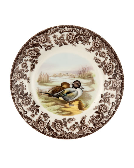 Spode Woodland Pintail Salad Plate