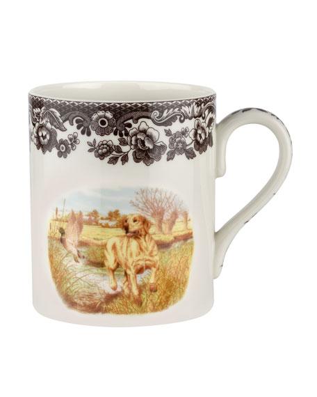 Spode Woodland Hunting Dogs Yellow Lab Mug