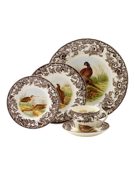Spode Woodland 5-Pc Place Setting