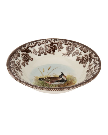 Spode Woodland Lapwing Ascot Cereal Bowl