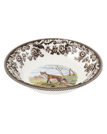 Spode Woodland Red Fox Ascot Cereal Bowl