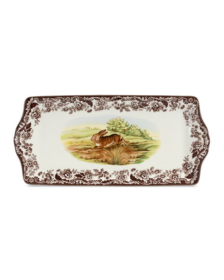 Spode Woodland Rabbit Sandwich Tray