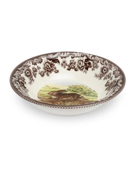Spode Woodland Rabbit Ascot Cereal Bowl