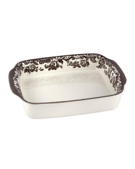 Spode Delamere Rectangular Handled Baking Dish