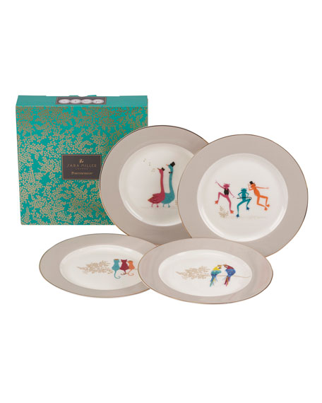 Spode Assorted Dessert Plates, Set of 4
