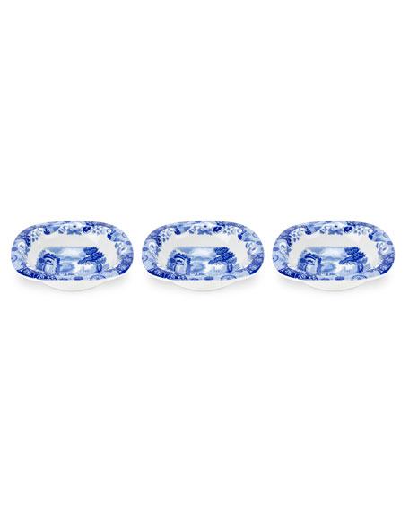 Spode Blue Italian Dip Dishes, Set of 3