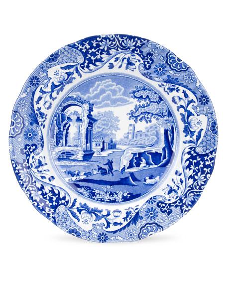 Spode Blue Italian Luncheon Plates, Set of 4