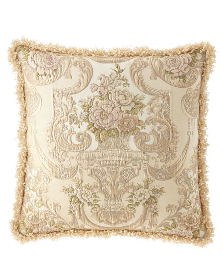 Dian Austin Couture Home Mayorka European Sham with Fringe