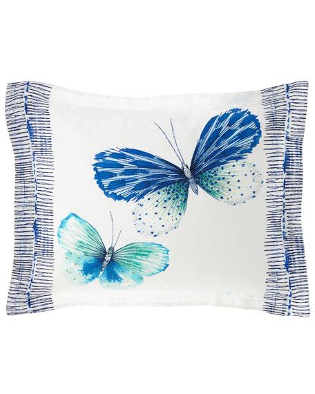 Designers Guild Papillons Cobalt King Sham