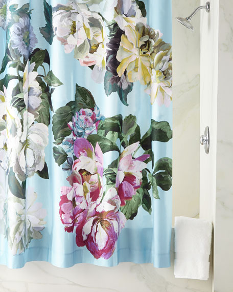 Designers Guild Delft Flower Sky Shower Curtain