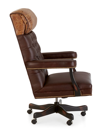 Old Hickory Tannery Barret Leather Office Chair