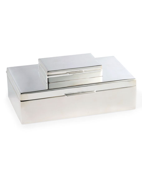 Ralph Lauren Home Beckbury Stacked Silver Box
