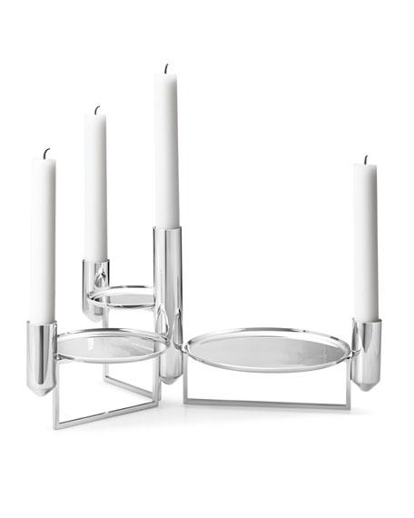 Georg Jensen Tunes Stainless Steel Centerpiece