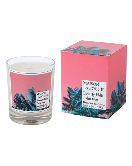 MAISON LA BOUGIE Beverly Hills Palm Tree Scented Candle, 6.7 oz./ 180 g