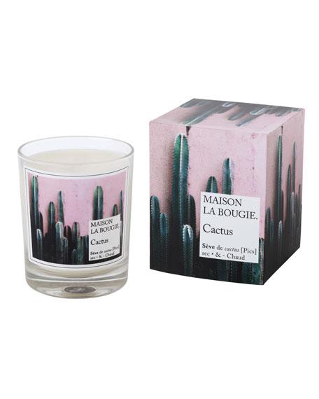 MAISON LA BOUGIE Cactus Scented Candle, 6.7 oz./ 180 g