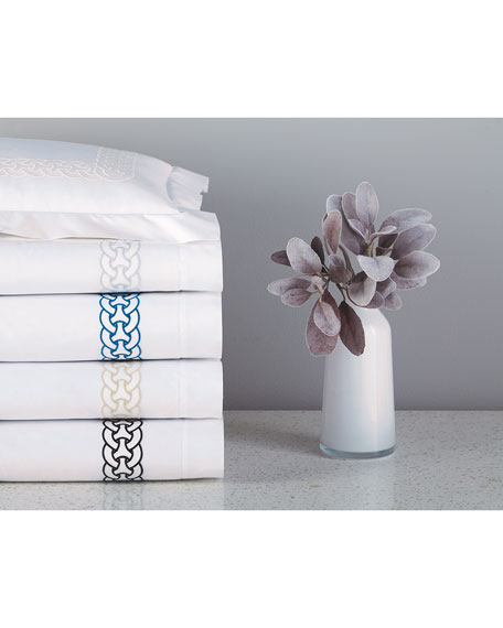Home Treasures Links Perla Queen Fitted Sheet