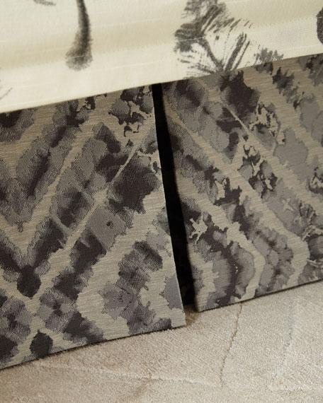 Jane Wilner Designs Plumes Diamond King Dust Skirt