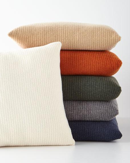 SFERRA Chunky Knit Decorative Pillow