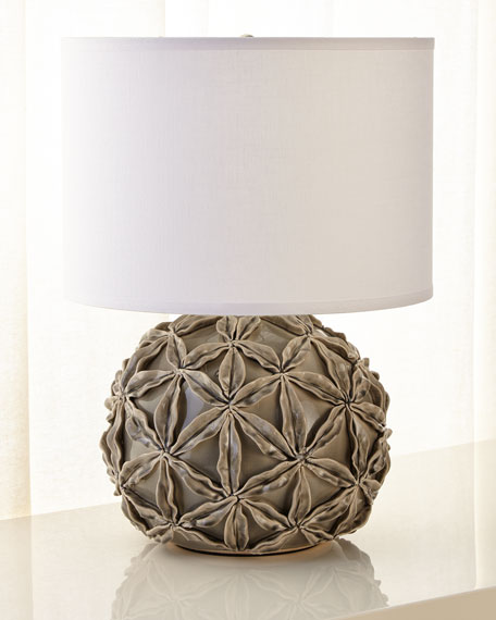 Jamie Young Star Flower Ceramic Table Lamp
