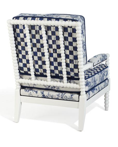 MacKenzie-Childs Indigo Villa Outdoor Chair