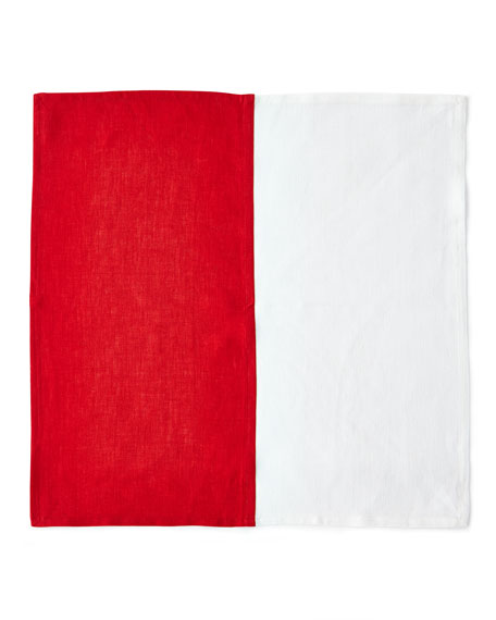 Deborah Rhodes Resort Two-Tone Napkin