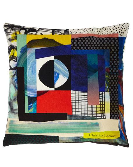 Christian Lacroix Sunset Mix Crepuscule Pillow